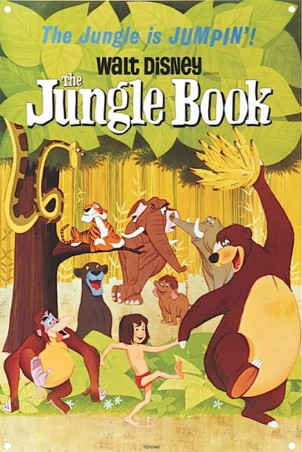 Jungle Book - A3 Metal Wall Sign